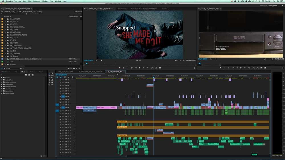 نرم افزار Premiere Pro
